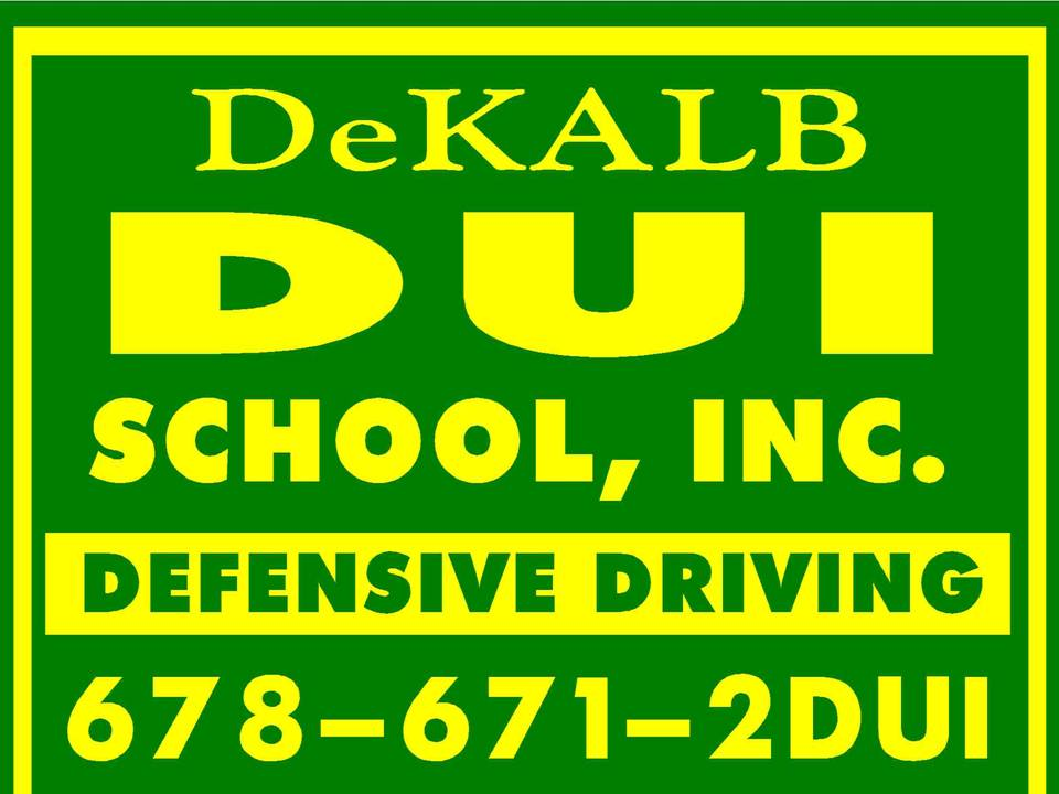 DeKalb DUI Sign