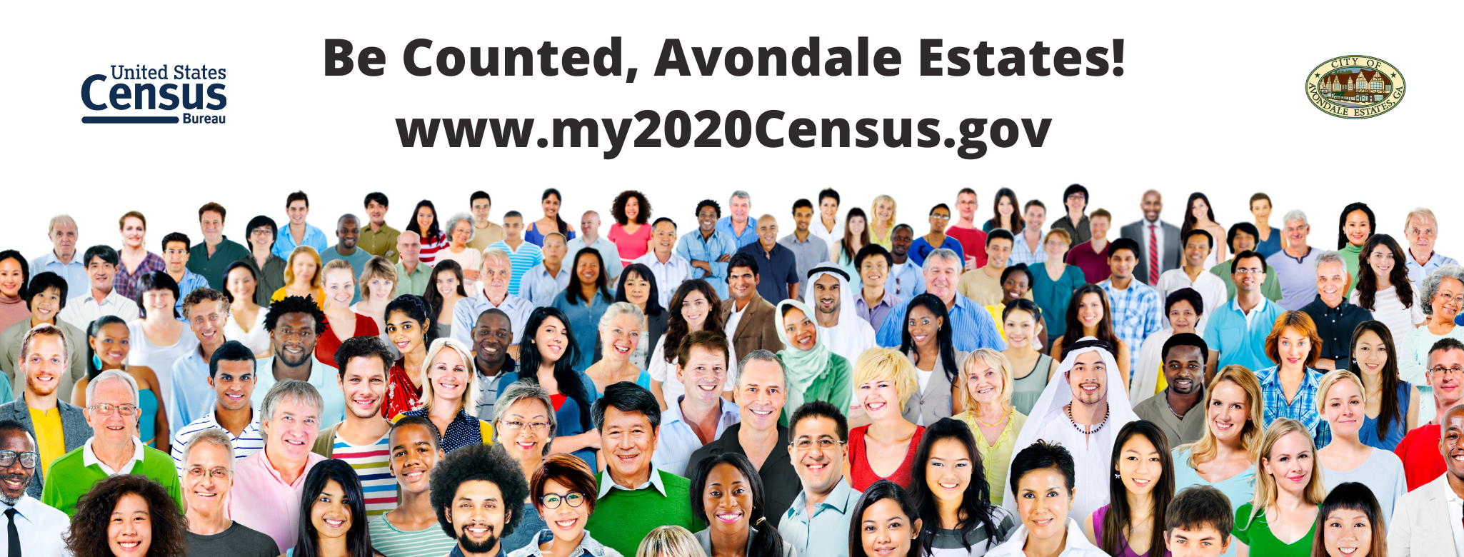 Be Counted, Avondale Estates!